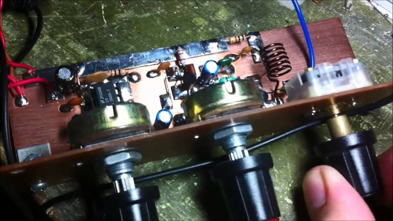 How To Build Opamp Vhf Fm Transmitter Circuit Diagram