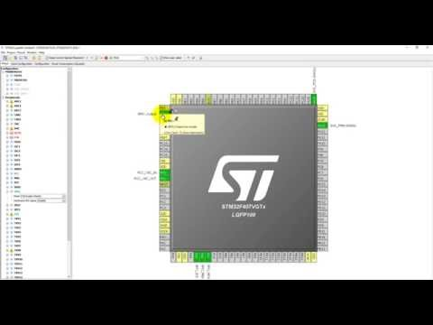 STM32F4 Programming in C 5-  Accelerometer coding in Keil using STM32CubeMx