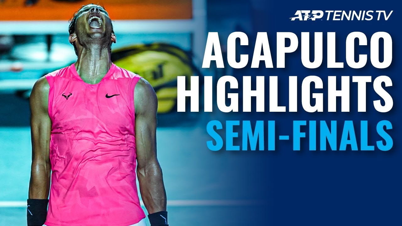 Nadal Tops Dimitrov; Fritz Reaches First 500 Final | Acapulco 2020 Semi-Final Highlights