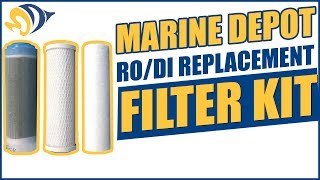 Marine Depot RO/DI Replacement Filter Kit: What YOU Need to Know