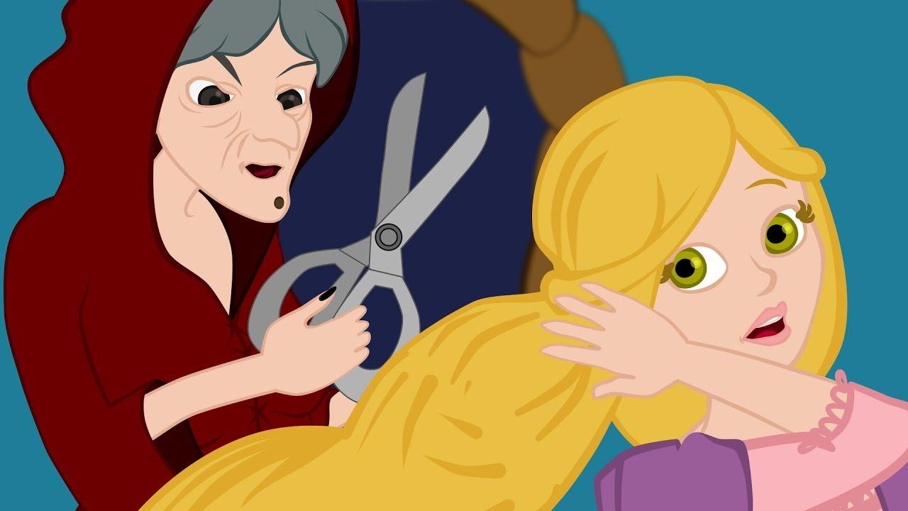 ربانزل - ريبونزل - قصص للأطفال - قصة قبل النوم للأطفال - رسوم متحركة - بالعربي