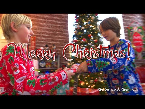 Christmas Morning Opening Presents 2017! - Gabe and Garrett from YouTube · Duration:  21 minutes 28 seconds