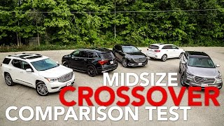 Midsize Three-Row Crossover Comparison Test