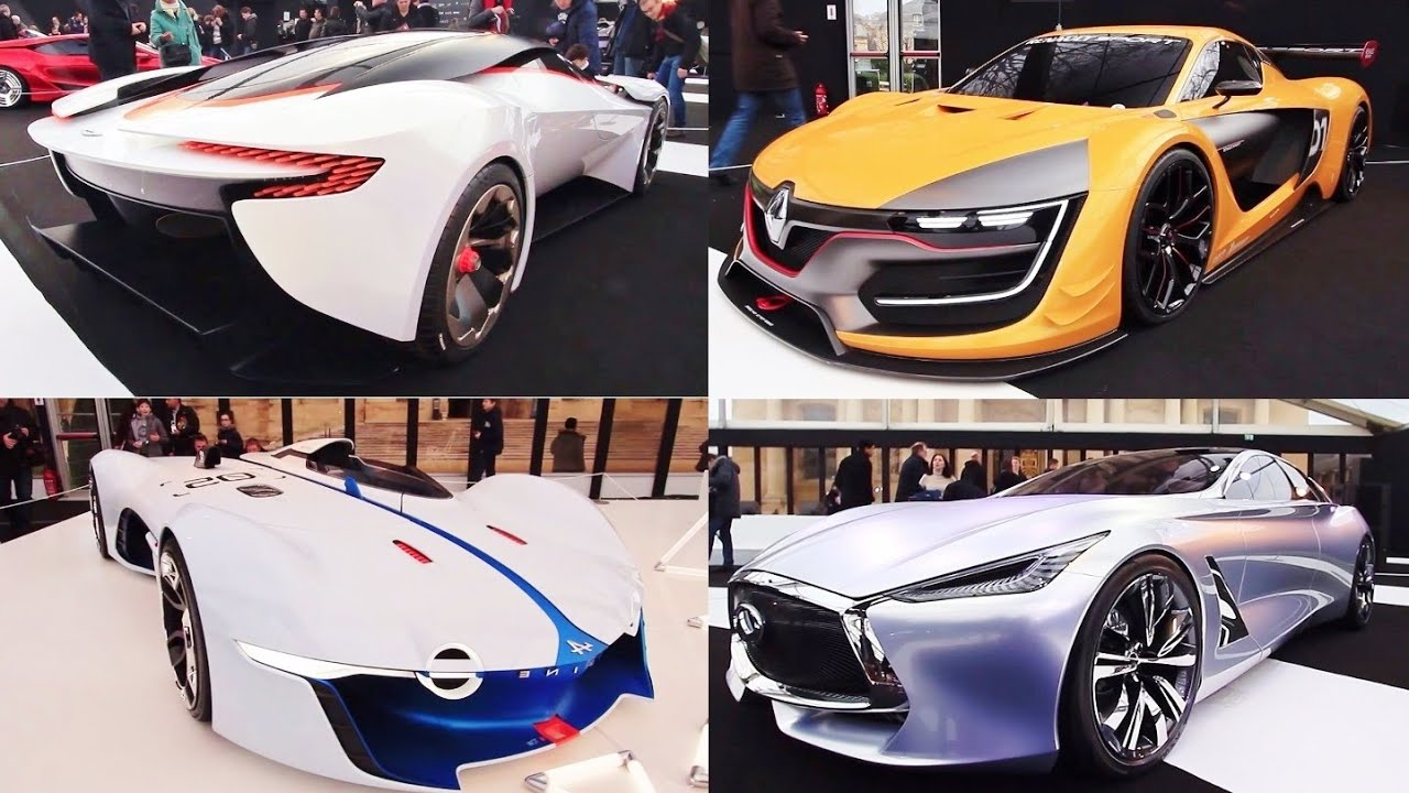 2015 international concept cars show - all the concept cars - youtube