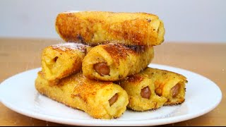 French Toast Pigs In A Blanket