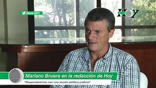 """Mariano Bruera: """"Vamos a tomar una acción desde lo político-judicial"""""""