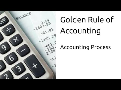 What is Golden Rule of Accounting | Journal | Ledger | CA CPT | CS & CMA Foundation | Class 11