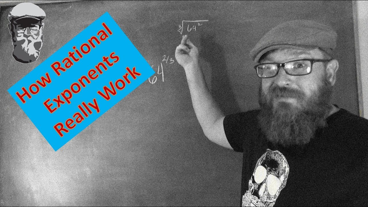 Caveman Questions : How rational exponents really work & caveman math the bearded