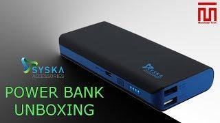 Unboxing Syska X-110 Power bank    Masaledar Tech    (Hindi)