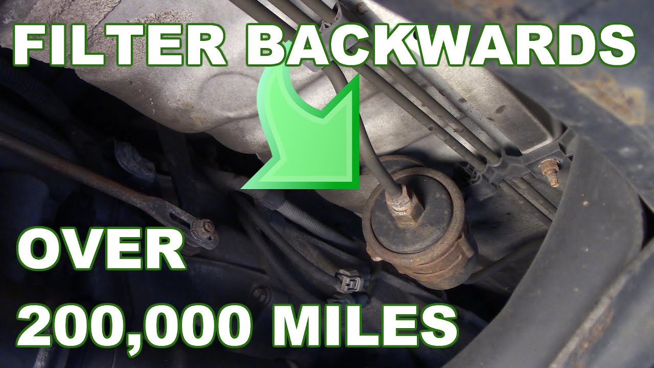 how to replace fuel filter 4Runner Temp Sensor Location