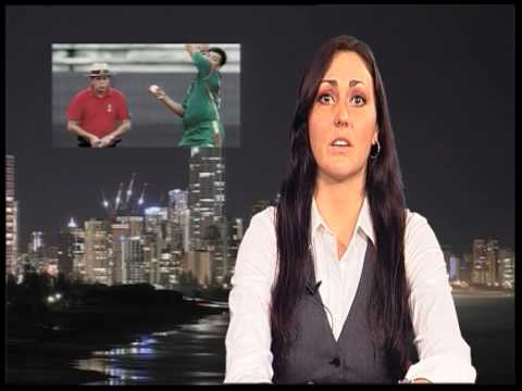 Caity Wright - Griffith University News Sports Segment
