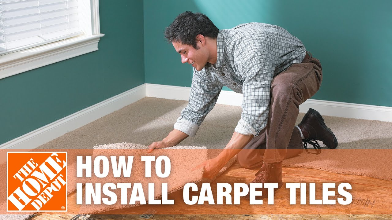 how to install carpet tiles the home depot