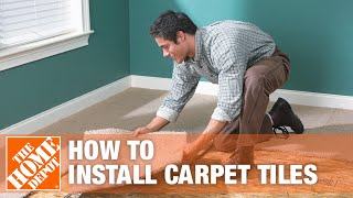 How to Install Carpet Tiles | The Home Depot