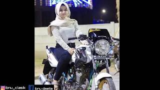 Dj slow honda tiger revo full modif dengan model cewek hijab part#1