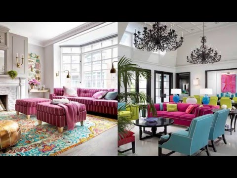 Pink Sofa Living Room Designs