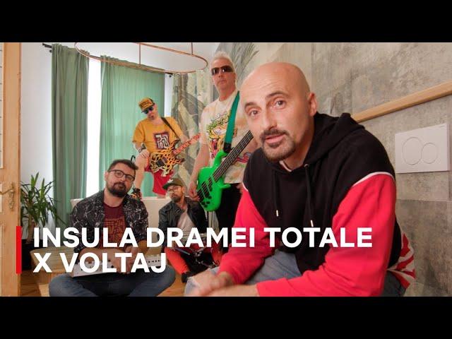 Voltaj x Insula Dramei Totale - Confesiuni din toaletă