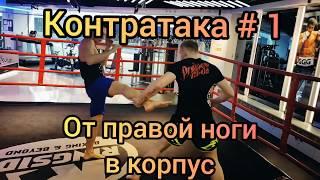 Кикбоксинг техника, контратака. Бокс техника. Тайский бокс техника. Тренировки. Онлайн тренировка