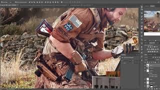 Speed ART PhotoManipulation - טורטיה