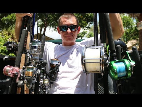 Ever Wonder What a $10,000 Rod and Reel Arsenal Looks Like?? (Tackle Tuesday )