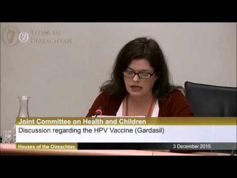 Karen Smyth from REGRET speaks to Irish Parliament Committee 03/12/2015