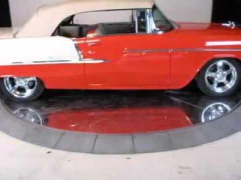 1955 Chevrolet Bel Air Convertible Custom Emotion Motorsports Austin Tx