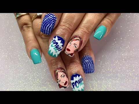 POPART Nails/Reverse Stamping/Alpha Gel Brush Review