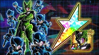 THE RAINBOW LR WE NEEDED! 100% RAINBOW STAR LR Cell Showcase! (DBZ: Dokkan Battle)