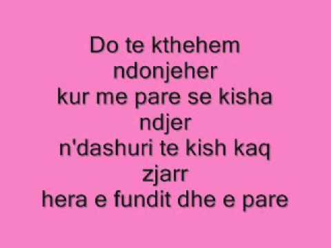 Anxhela Peristeri -  Prape Do Ti Lutem Lyrics