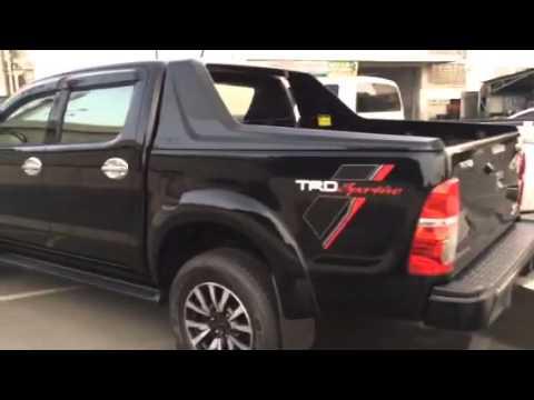 Hilux Vigo TRD Sprotivo 2014 สีดำ