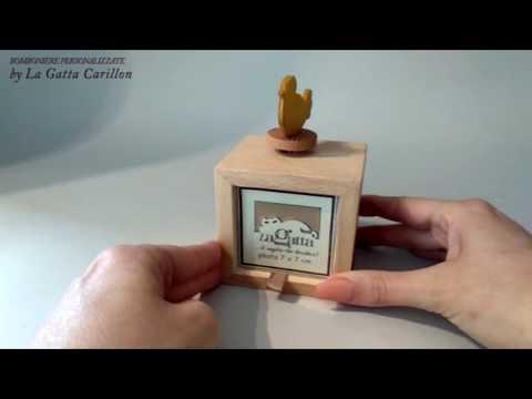 UCCELLINO carillon bomoniera ( carioncino e porta foto) - Sous le ciel de Paris