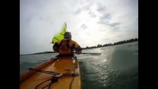 Kayak Sailing Gybe Thumbnail