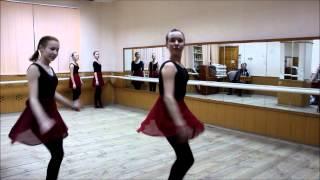Открытый урок 7 класс  этюды, элементы вращения по народному танцу,