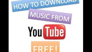 Cara Download Musik Dari Youtube Terbaru 2017