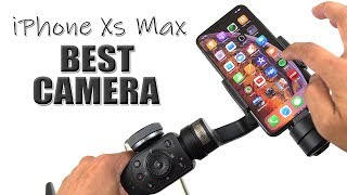 iPhone Xs Max Camera Test with Zhiyun Smooth 4 [4K] 60fps