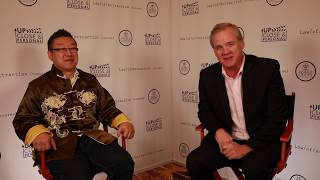 David Kam Interview with Up Close and Personal TV at World Crypto Con #WCC