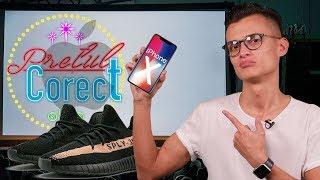 Cât costă iPhone X și Yeezy Boost - Cavaleria.ro