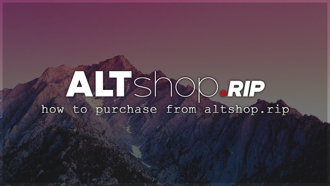 How To Purchase From ALTShop rip | Tutorial #1 - Travel Online