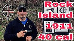 Rock Island 1911 40 Caliber