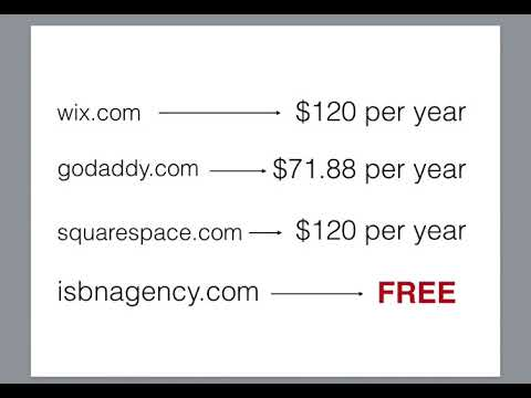 How To Get A Free Web Page For Your Book on isbnagency