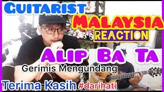Download Lagu ALIP_BA_TA GERIMIS MENGUNDANG (Slam Cover) | REACTION GUITARIST MALAYSIA | ANDY IRWANDY mp3