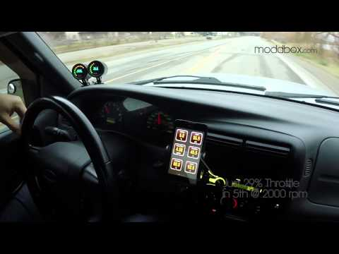 Low Boost Ranger Test Drive - Moddbox Supercharger Kit 4.0 V6