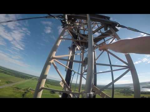 400ft Tower Climb In Richmond PEI