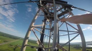 400ft Tower Climb in Richmond PEI
