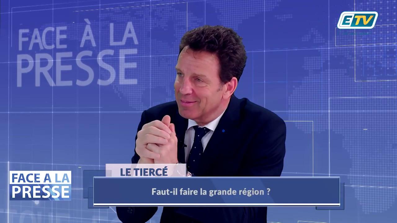 FACE A LA PRESSE avec Geoffroy Roux de Bézieux - Partie 2 - Président du MEDEF