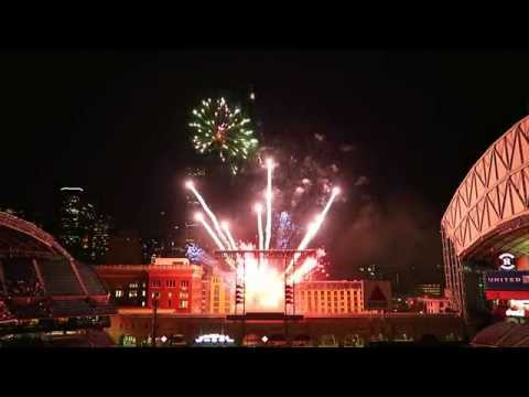 Karaoke Classics:  Astros Friday Night Fireworks at Minute Maid Park, Sep 18, 2015