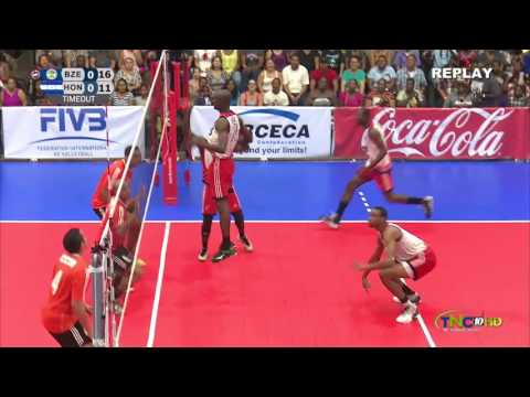 FIVB Mens World Championship Qualification Tournament Belize 2016- Bryton Codd Highlights