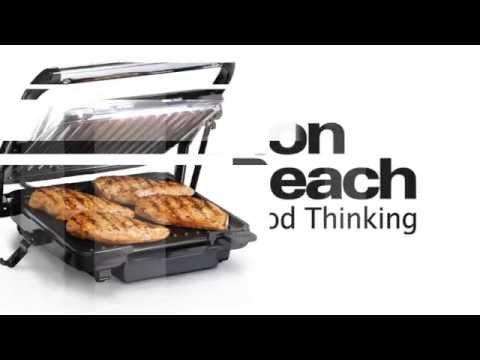 Hamilton Beach 25451-IN Panini Press and Indoor Grill Sandwich Maker