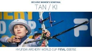 Tan Ya-Ting v Ki Bo Bae – Recurve Women's Semifinal   Odense 2016