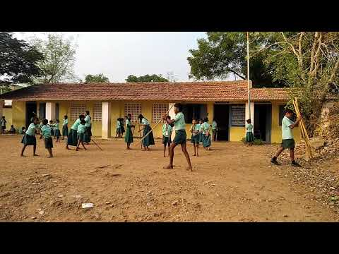 Salavakkam Panchayat Union primary school teaching is a silamba