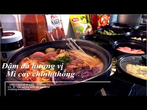 Hướng dẫn nấu mì cay 7 cấp độ ngon – Spicy noodles